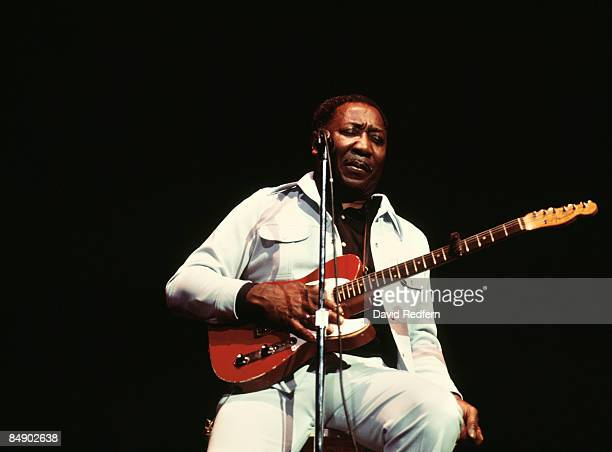 HALL Photo of Muddy WATERS Muddy Waters performing on stage