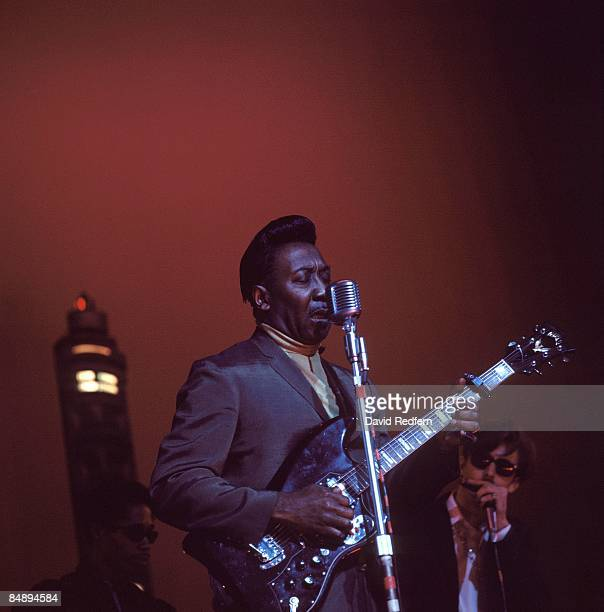 Photo of Muddy WATERS performing live onstage