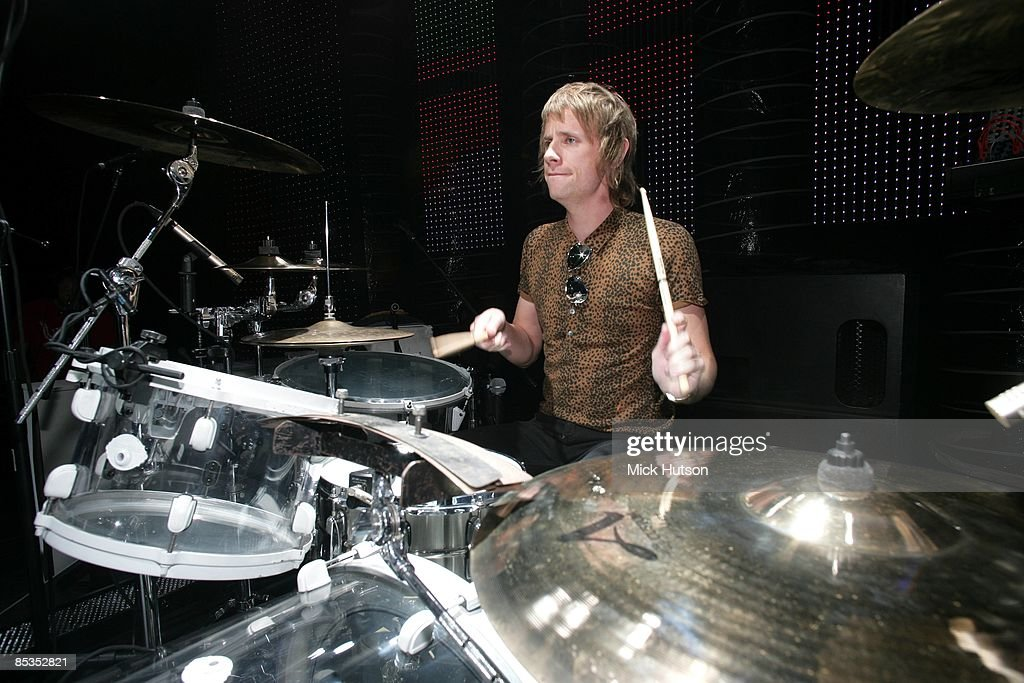 Dominic Howard Drums