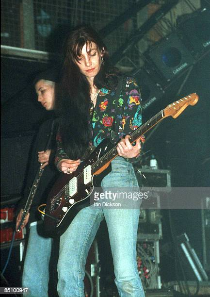 Photo of MY BLOODY VALENTINE and Anna QUIMBY and Bilinda BUTCHER Anna Quimby and Bilinda Butcher performing on stage