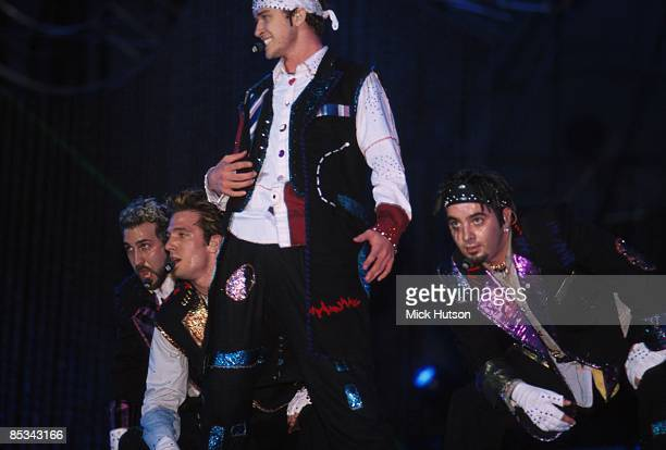 Photo of 'N SYNC and N SYNC and Joey FATONE and JC CHASEZ and Justin TIMBERLAKE and Chris KIRKPATRICK LR Joey Fatone JC Chasez Justin Timberlake...