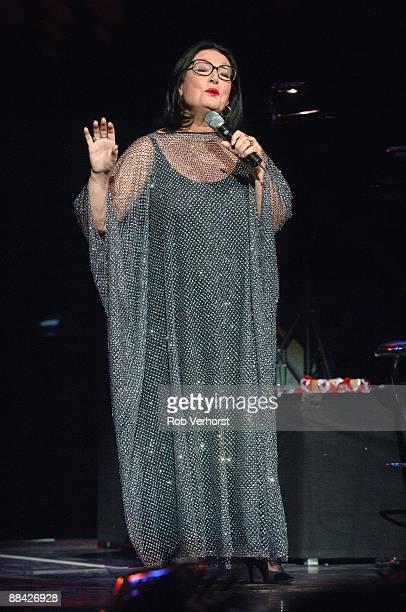 ROTTERDAM Photo of Nana MOUSKOURI Her last live performance Nieuw Luxor Rotterdam
