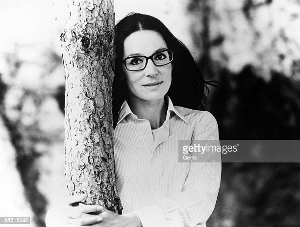 Photo of Nana MOUSKOURI; Posed portrait of Nana Mouskouri