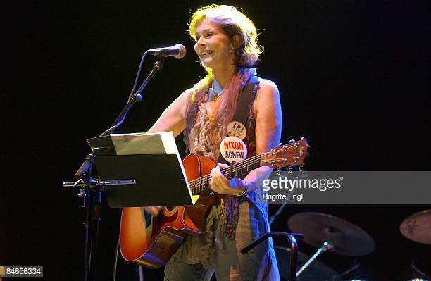 S BUSH EMPIRE Photo of Nanci GRIFFITH performing live onstage