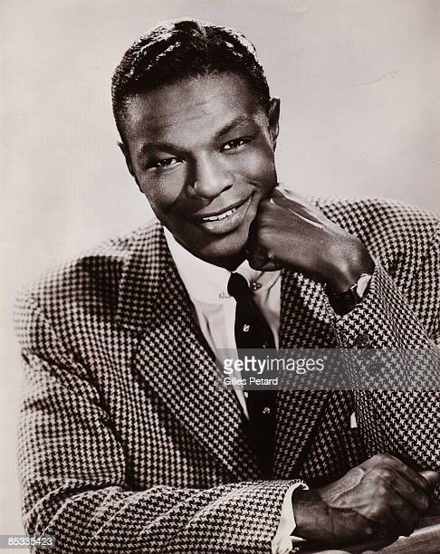 Photo of Nat King COLE Posed studio portrait of Nat King Cole