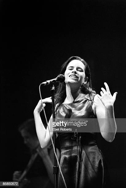 UNITED STATES JANUARY 01 Photo of Natalie MERCHANT Natalie Merchant performing on stage
