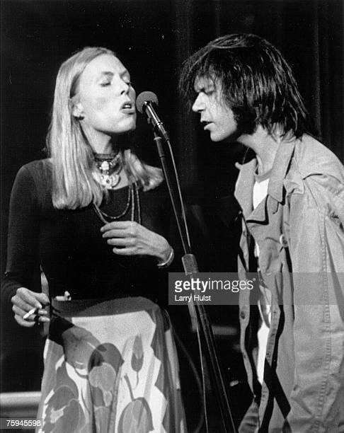 Photo of Neil Young & Joni Mitchell