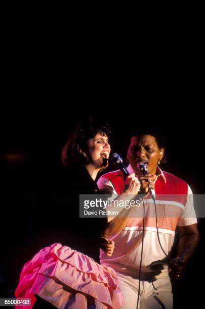 Photo of NEVILLE BROTHERS and Aaron NEVILLE and Linda RONSTADT, with Aaron Neville