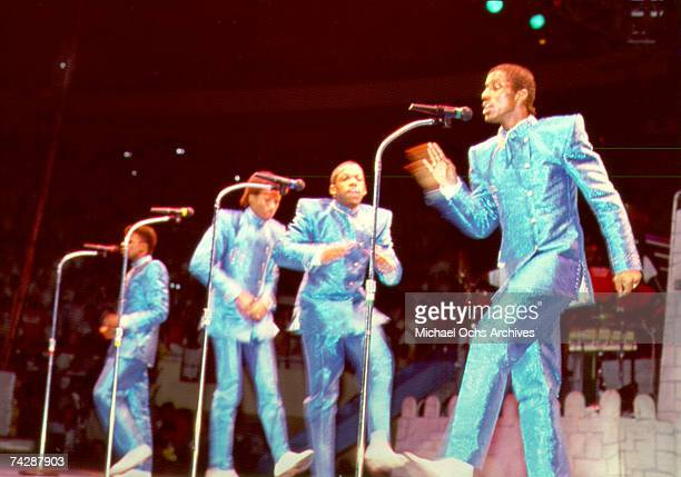 Photo of New Edition Photo by Michael Ochs Archives/Getty Images