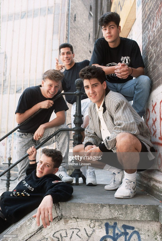 Photo of NEW KIDS ON THE BLOCK and Donnie WAHLBERG and Joey McINTYRE and Danny WOOD and Jonathan KNIGHT and Jordan KNIGHT : News Photo