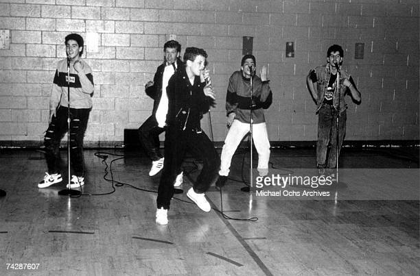 Photo of New Kids on the Block Photo by Michael Ochs Archives/Getty Images