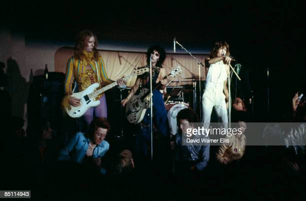 BIBA Photo of NEW YORK DOLLS and Arthur KANE and Sylvain SYLVAIN and David JOHANSEN LR Arthur Kane Sylvain Sylvain and David Johansen performing on...