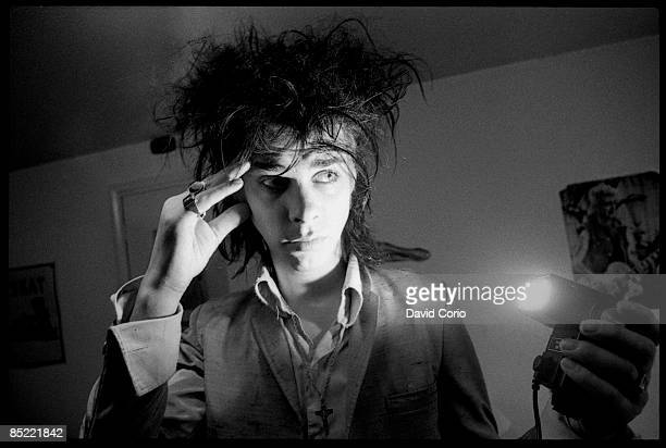 Photo of Nick CAVE; Nick Cave Kilburn, London 7-15-1982