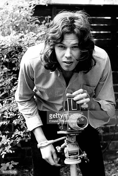 Photo of Nick DRAKE posed in Hampstead