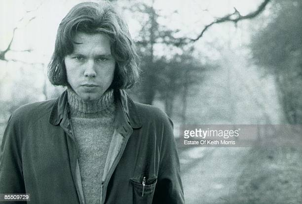 Photo of Nick DRAKE posed on Hampstead Heath