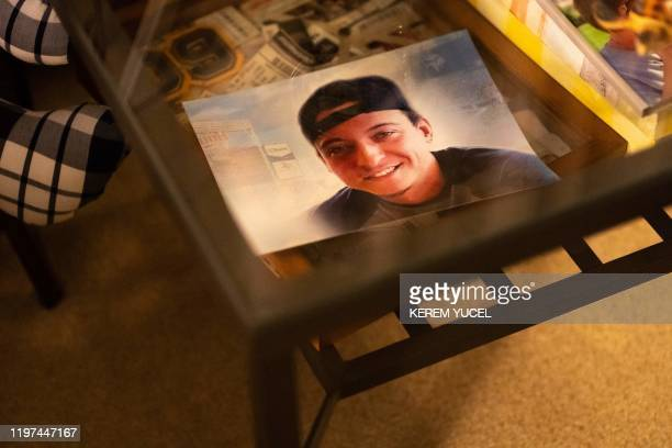 A photo of Nicole SmithHolt's son Alec who died is viewed on January 15 2020 in Richfield Minnesota It's the wealthiest country on the planet but the...