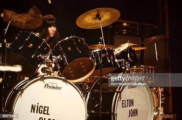 POPS Photo of Nigel OLSSON Elton John's drummer