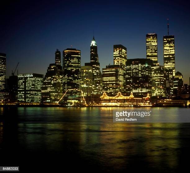 Photo of NIGHTTIME and NEW YORK SKYLINE and NEW YORK CITY and SKYSCRAPERS