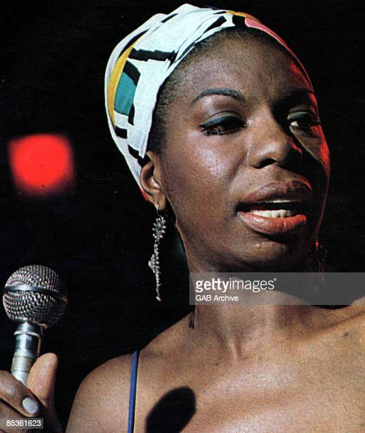 Photo of Nina SIMONE in performance