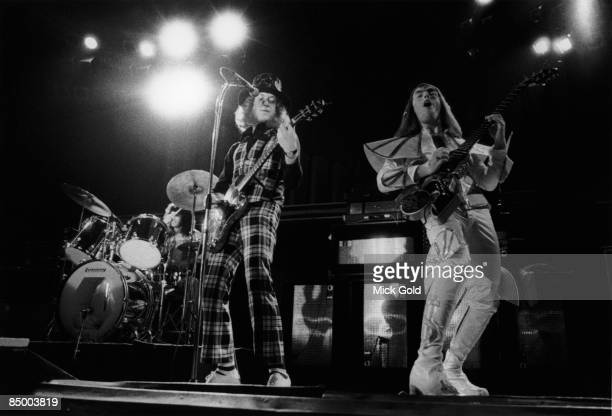 ODEON Photo of Noddy HOLDER and SLADE and Don POWELL and Dave HILL LR Don Powell Noddy Holder Dave Hill