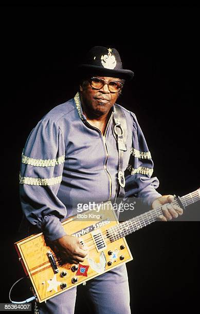 Photo of NOVELTY GUITARS and Bo DIDDLEY