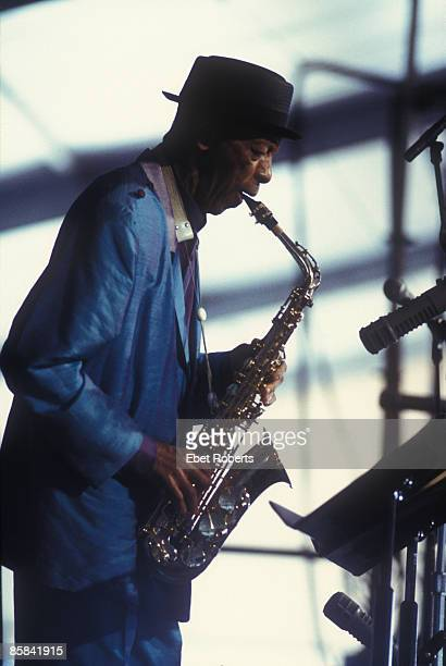 UNITED STATES APRIL 27 NEW ORLEANS JAZZ FESTIVAL Photo of Ornette COLEMAN performing live onstage