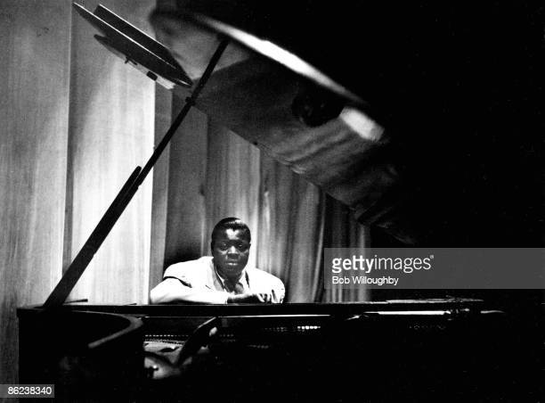 Photo of Oscar PETERSON live at Jazz at the Philharmonic Shrine Auditorium