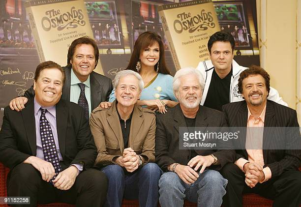 HOTEL Photo of OSMONDS and Alan OSMOND and Jimmy OSMOND and Wayne OSMOND and Marie OSMOND and Merrill OSMOND and Donny OSMOND and Jay OSMOND Family...