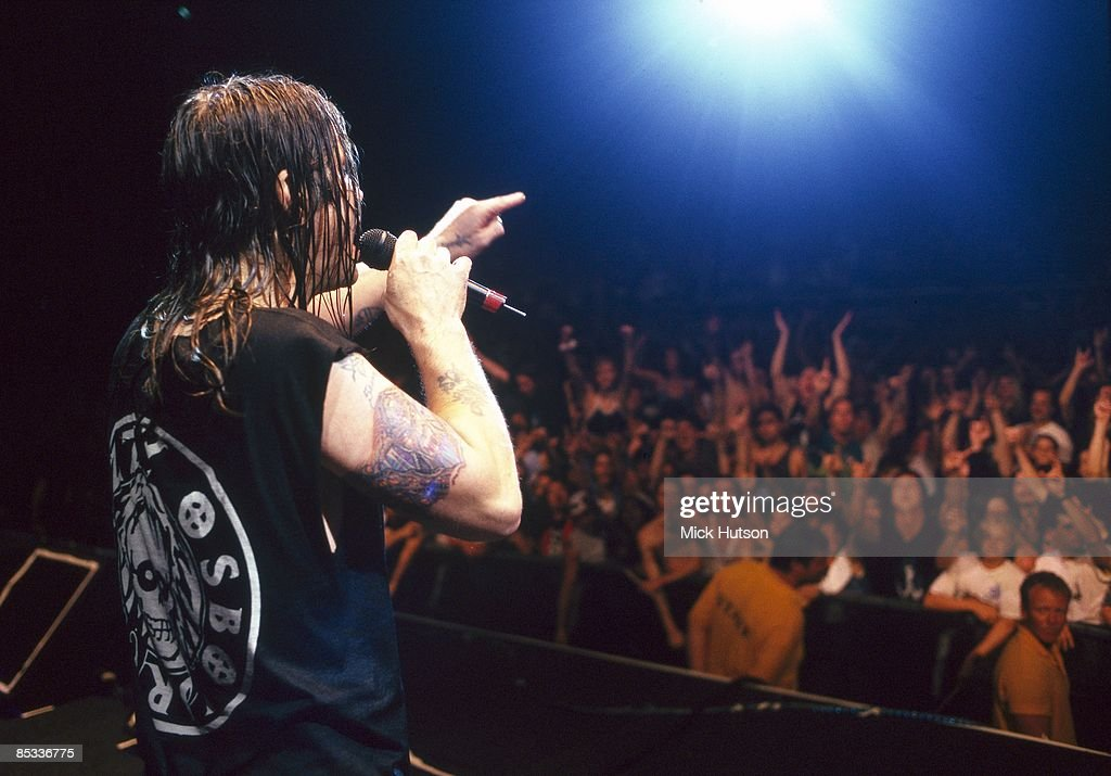 Photo of Ozzy OSBOURNE; Ozzy Osbourne performing on stage