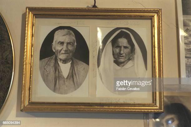Photo of Padre Pio's parents Grazio Forgione and Mamma Peppa Forgione