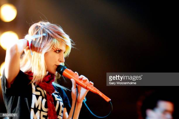 Photo of PARAMORE, Hayley performing live onstage