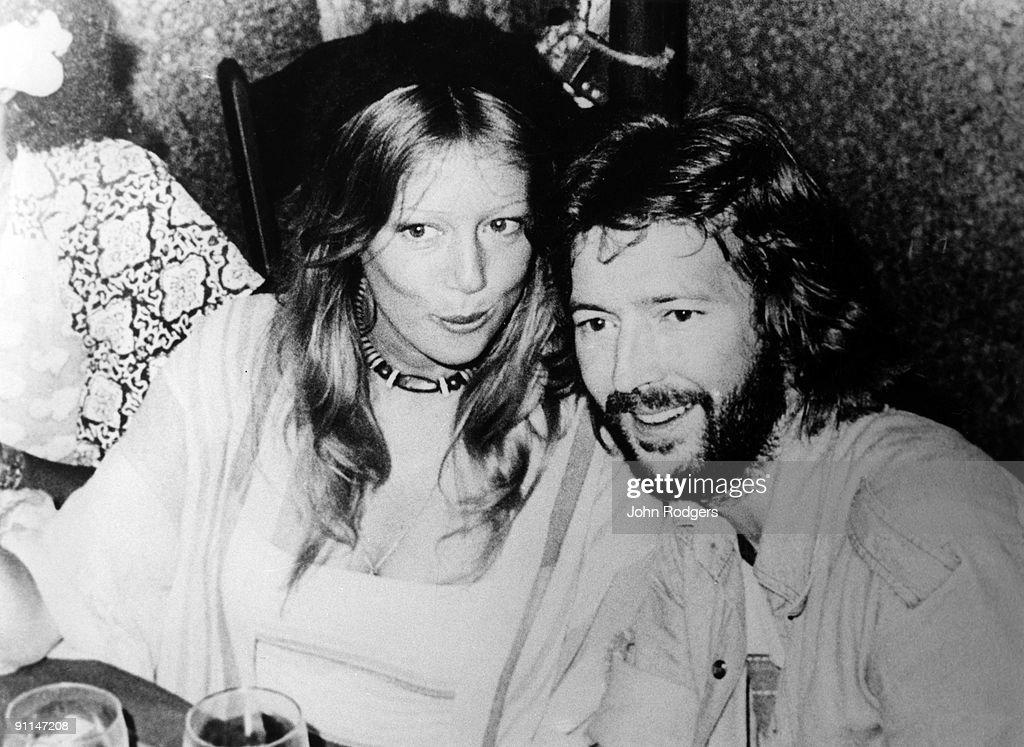 Photo of Patti BOYD and Eric CLAPTON : News Photo