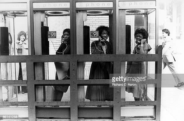 USA Photo of Patti LABELLE and LABELLE and Nona HENDRYX and Sarah DASH LR Nona Hendryx Patti Labelle Sarah Dash