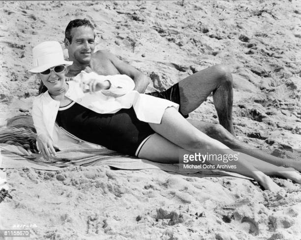 Photo of Paul Newman and Joanne Woodward