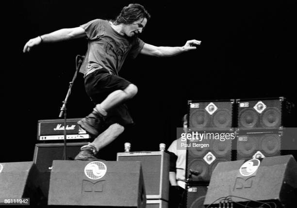 FESTIVAL Photo of PEARL JAM Pinkpop 1992 Pearl JamEddie Vedder