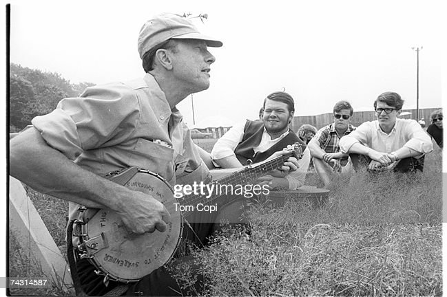 Photo of Pete Seeger : News Photo