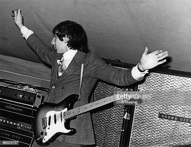 Photo of Pete TOWNSHEND and The Who Pete Townshend performing live onstage