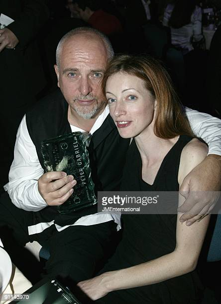 Photo of Peter GABRIEL with his wife Meabh Flynn