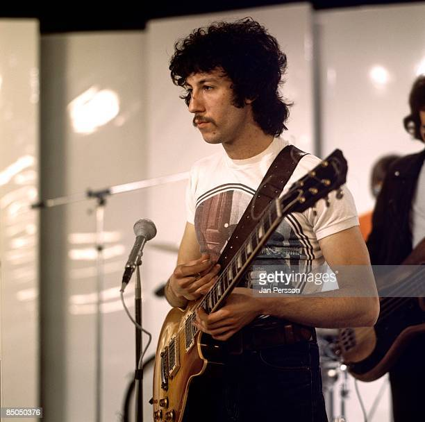 Photo of Peter GREEN and FLEETWOOD MAC Peter Green on set of TV Show
