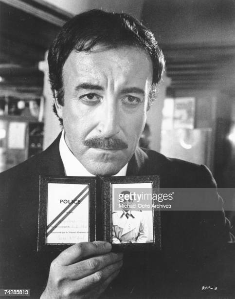 Photo of Peter Sellers as Inspector Clouseau in one of the 'Pink Panther' films Photo by Michael Ochs Archives/Getty Images