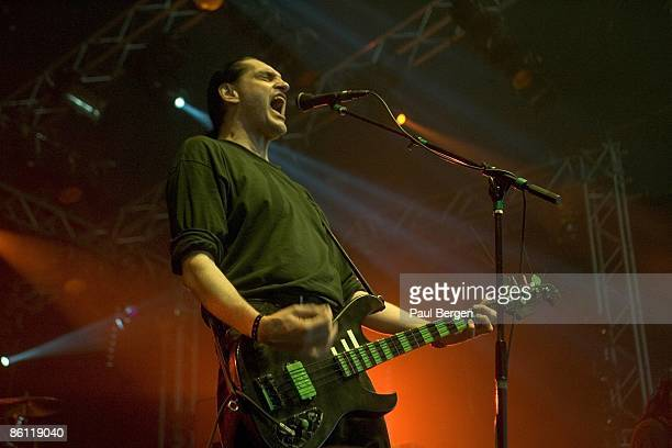 ROCK Photo of Peter STEELE and TYPE O'NEGATIVE Peter Steele performing live onstage