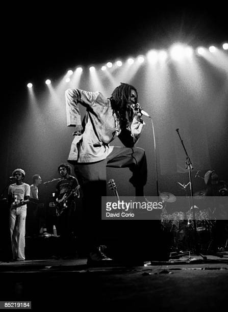 THEATRE Photo of Peter TOSH Peter Tosh performing at The Rainbow London 29 June 1981