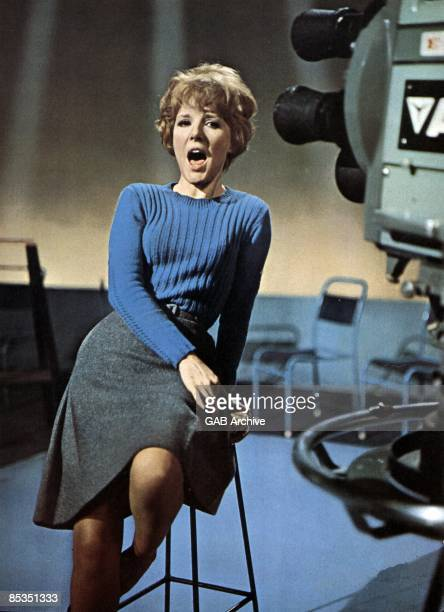 Photo of Petula CLARK Performing on a tv show