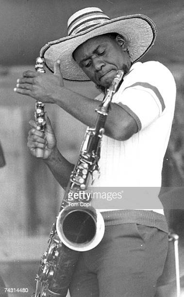 Photo of Pharoah Sanders Photo by Tom Copi/Michael Ochs Archives/Getty Images
