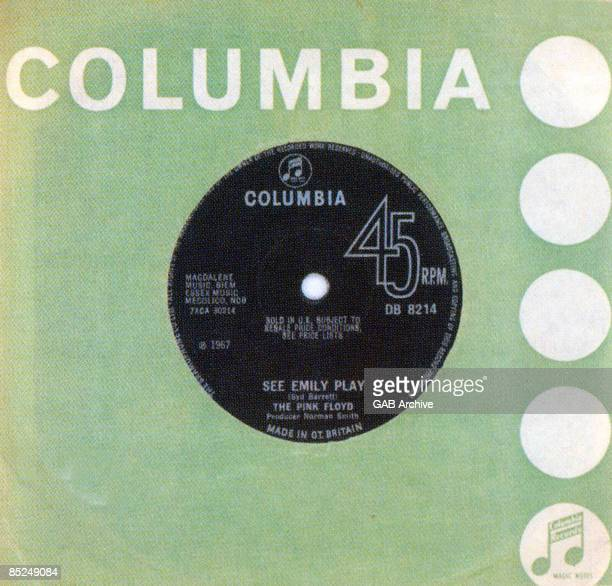 Photo of PINK FLOYD 7 inch single cover of 'See Emily Play' released in 1967
