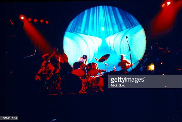 Photo of PINK FLOYD performing live onstage on Winter Tour