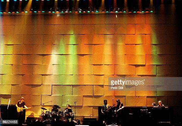 Photo of PINK FLOYD performing live onstage The Wall concert