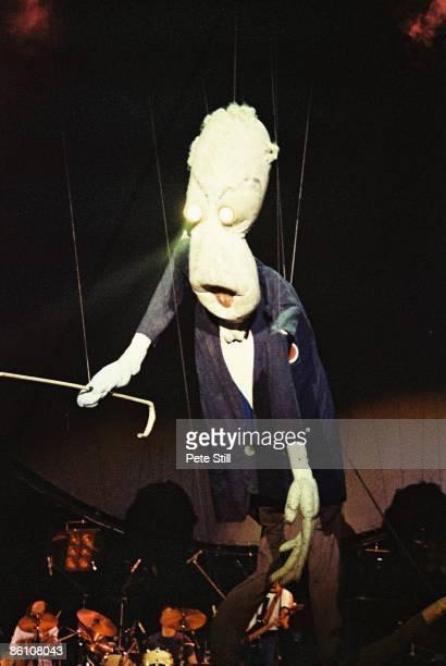 COURT Photo Of PINK FLOYD Teacher Puppet At The Wall Concert