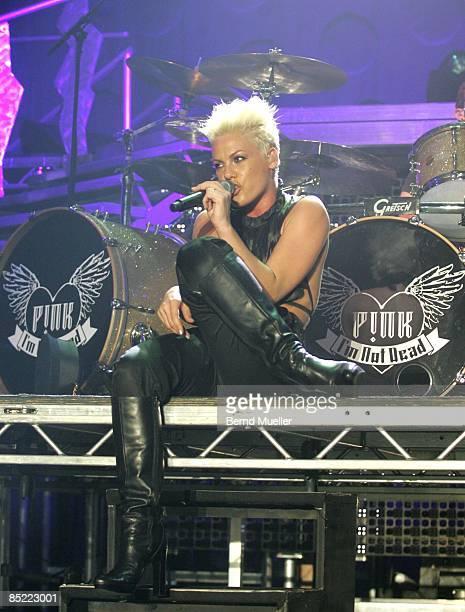 Photo of PINK; Musik, Rock`n Roll, Pop, live in concert,, Arena Nuernberg, , Pink,, I`m not dead Tour 2006
