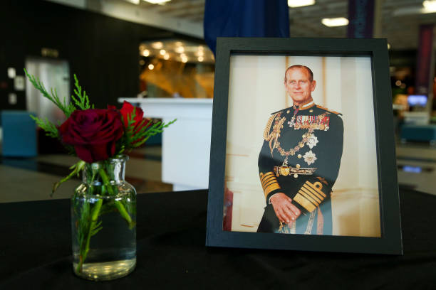 NZL: New Zealand Holds State Memorial Service For Duke Of Edinburgh Prince Philip